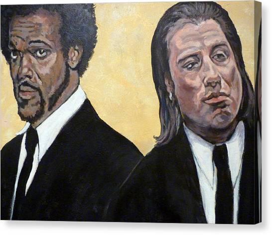 Hit Men Canvas Print