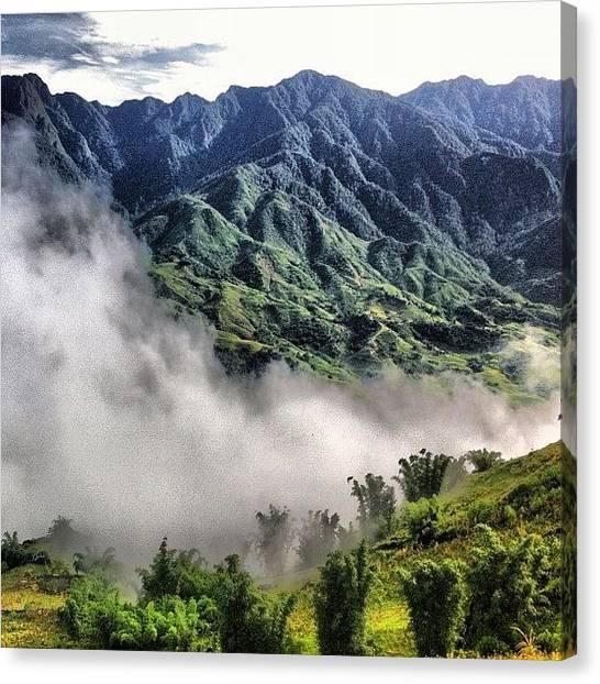 Bamboo Canvas Print - #hmong #village #sapa #vietnam by Universal Traveller