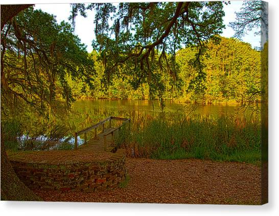 Hobcaw Barony Pond Canvas Print