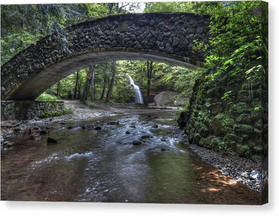 Hocking Bridge Canvas Print