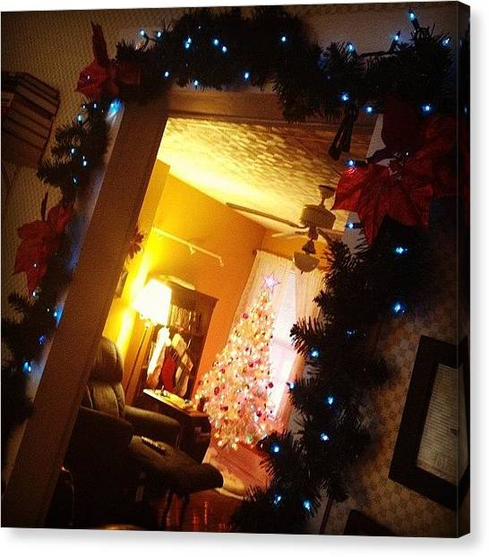 Holidays Canvas Print - #holiday #decorations #grateful #blessed by Melissa Wyatt