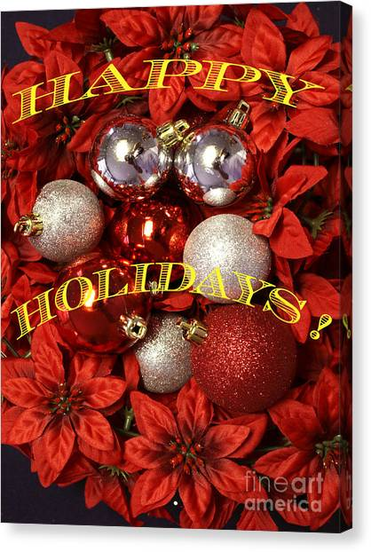 Holiday Greetings Canvas Print