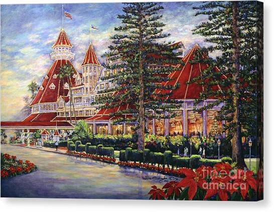 Holiday Hotel Canvas Print