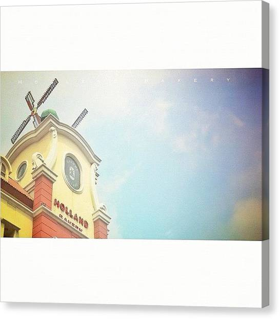 Bakeries Canvas Print - Holland Bakery by Dicky Sutanto