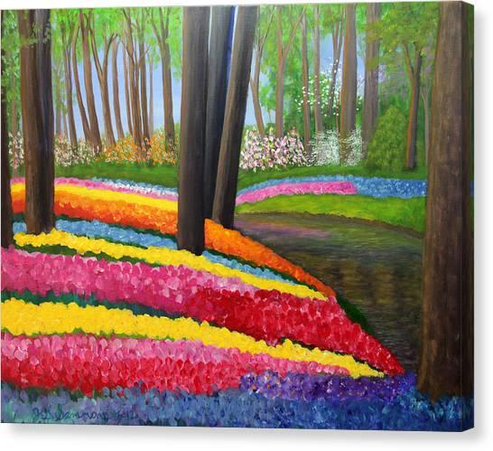 Holland Gardens Canvas Print