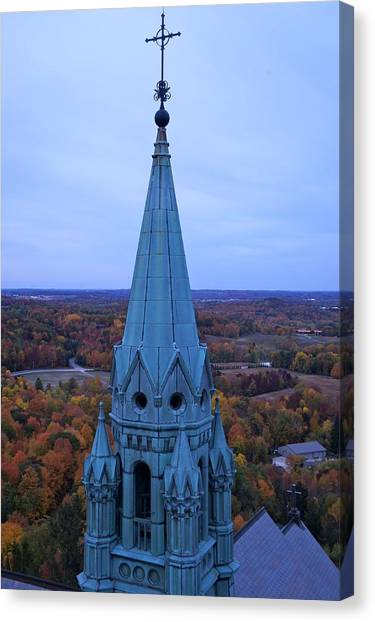 Holy Hill Steeple  Canvas Print
