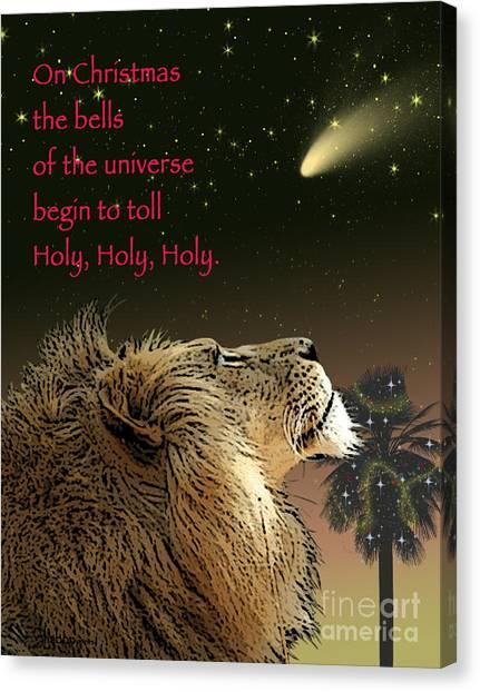 Holy Holy Holy Canvas Print