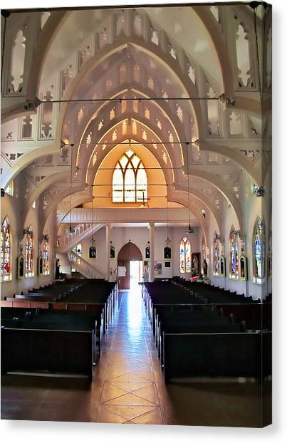 Holy Rosary 2 Canvas Print