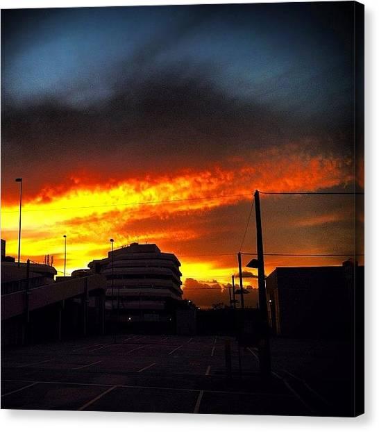 Apocalypse Canvas Print - Holy Smoke, Is It The End? #2012 by Tony Keim