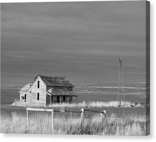Homestead Canvas Print by HW Kateley