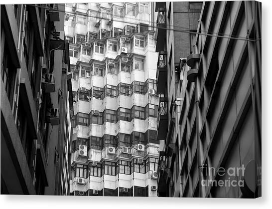 Hongkong Canvas Print - Hong Kong Living I by Dean Harte