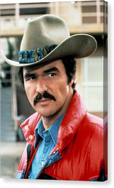 Burt Reynolds Canvas Print - Hooper, Burt Reynolds, 1978 by Everett
