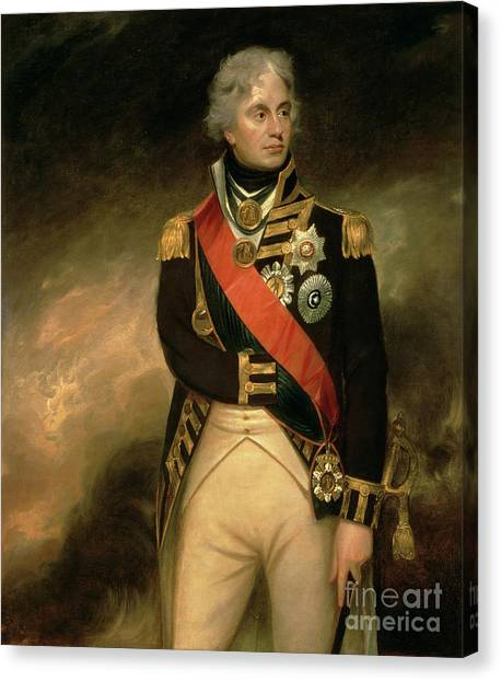 Honor Canvas Print - Horatio Viscount Nelson by Sir William Beechey