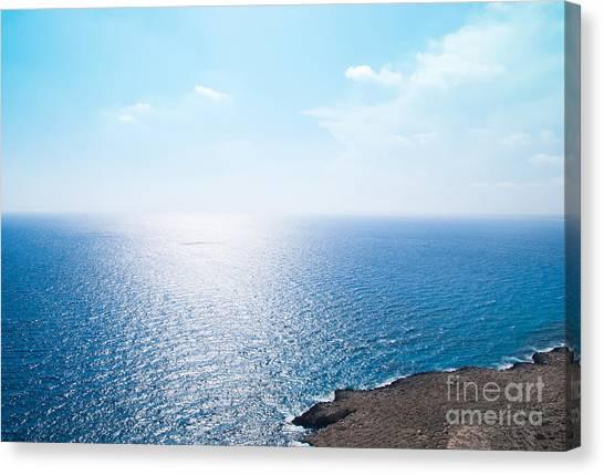 Horizon Canvas Print by Boris Suntsov