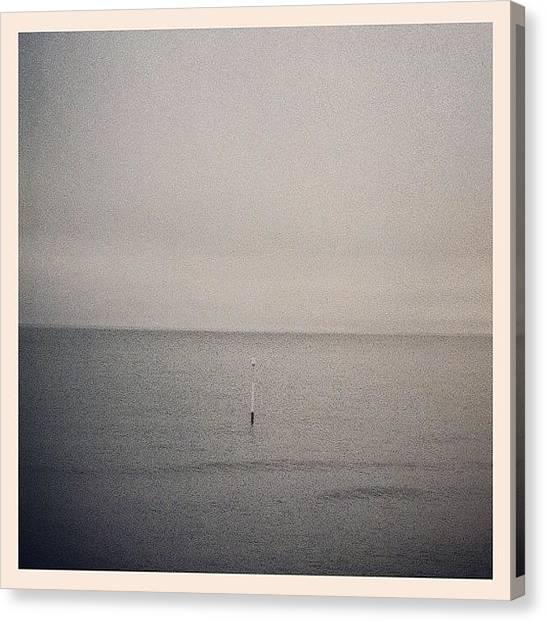 Marshes Canvas Print - Horizon Post by Tom Crask