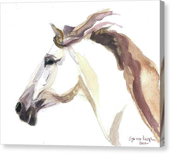 Horse - Julia Canvas Print