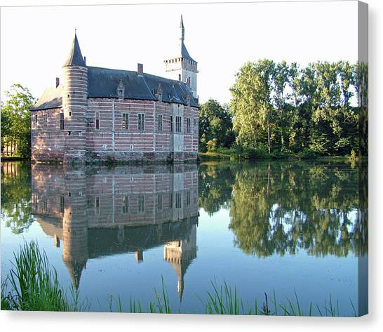 Horst Castle Belgium Canvas Print