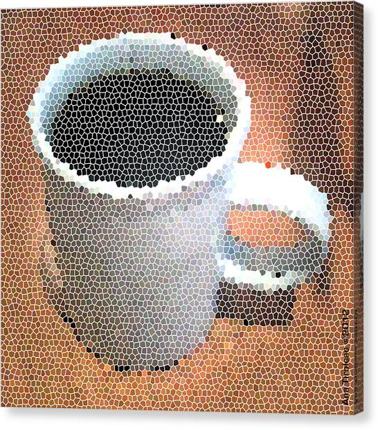 Hot Coffee 03 Canvas Print
