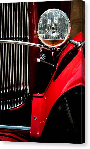 Hot Rod Canvas Print by Jason Heckman