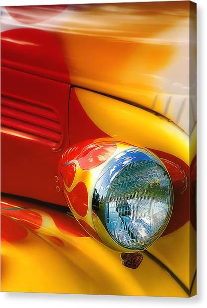 Hot Rod Rgb 01 Canvas Print