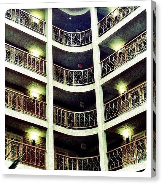 Hotels Canvas Print - Hotel Design by Natasha Marco