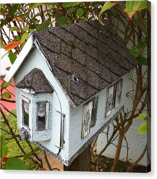 Quirky Canvas Print - House For Rent In San Francisco! Lol! by Judi Lacanlale