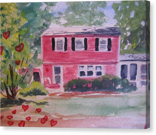 House Of Love Canvas Print