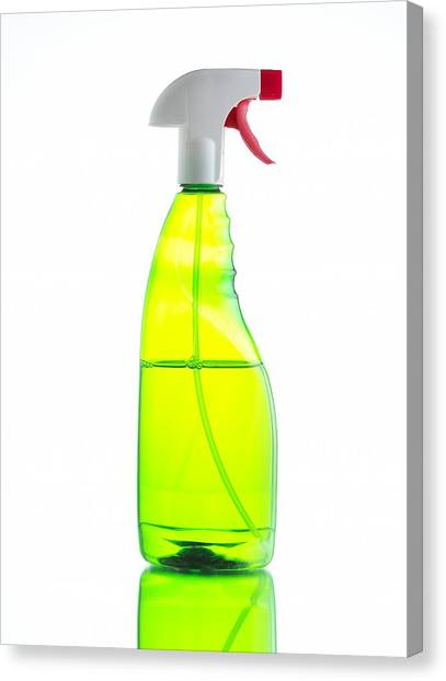 Household Cleaner Canvas Print by Mark Sykes