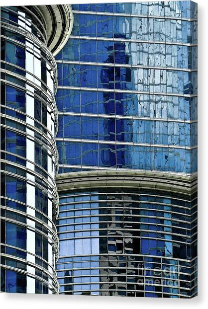 Houston Architecture 1 Canvas Print
