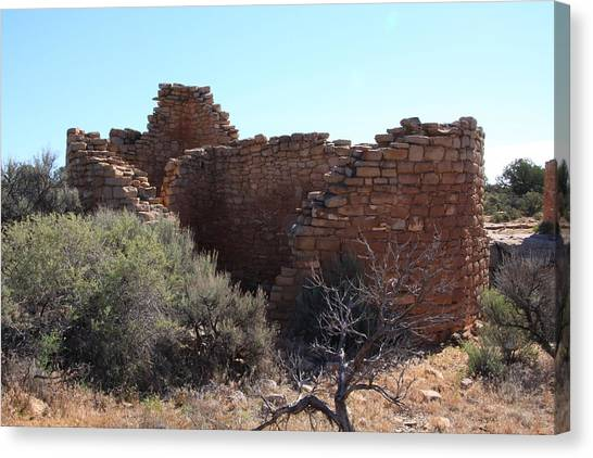 Hovenweep House Canvas Print by Cynthia Cox Cottam