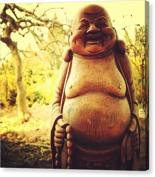 Iphoneonly Canvas Print - How Can You Say No To A Smile Like by Johnathan Dahl