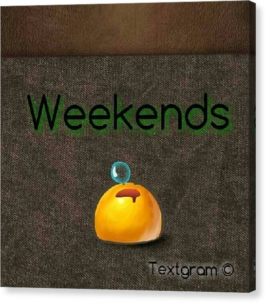 Ignation Canvas Print - How I Spend Weekends #jo #amman #jordan by Abdelrahman Alawwad