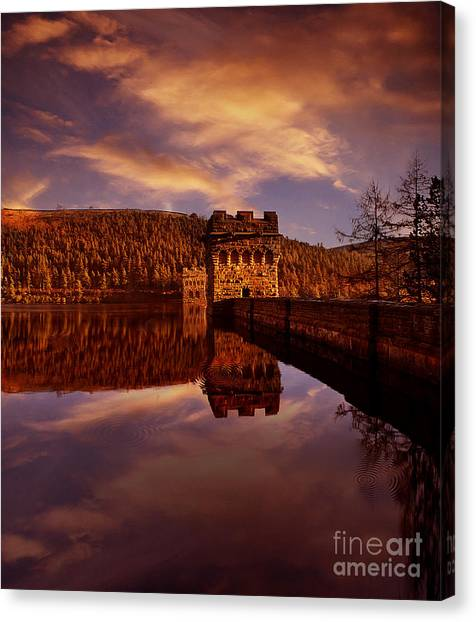 Howden Reflections Canvas Print by Nigel Hatton
