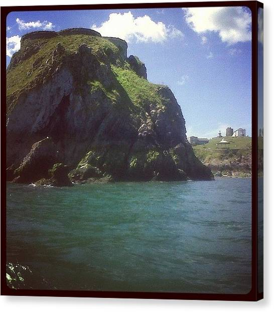 Ireland Canvas Print - Huge Rock by Rachel Williams