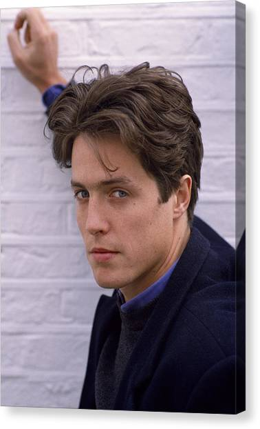 Hugh Grant Canvas Print