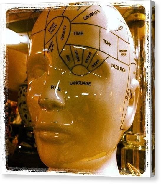 Medicine Canvas Print - #human #head #skull #brain #anatomy by Craig Kempf