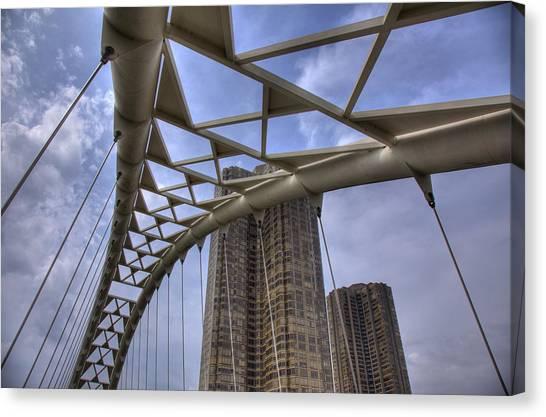 Humber Bay Bridge Canvas Print