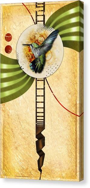 Humming Canvas Print by Joshua Dixon