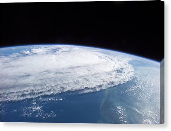 Atlantic 10 Canvas Print - Hurricane Ophelia, 10th September 2005 by Nasa
