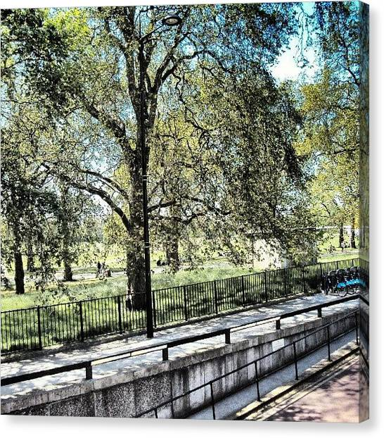 London2012 Canvas Print - #hydepark #hydeparkcorner #london2012 by Abdelrahman Alawwad