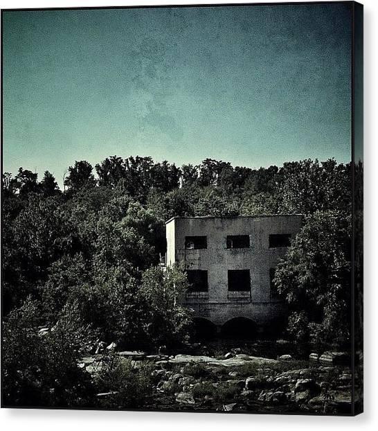 Virginia Canvas Print - Hydro Plant At Belle Isle #rva by Rob Beasley