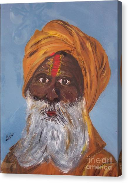I Am A Sikh Canvas Print