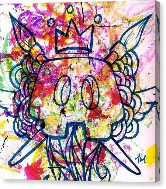 Irises Canvas Print - I Am Bluepencil #love #poison #style by Iris  Malang