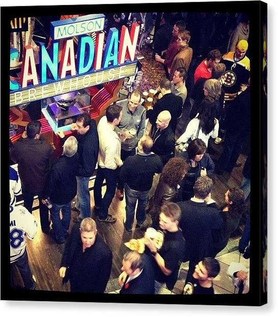 Toronto Maple Leafs Canvas Print - I Am Canadian.  by Walied A