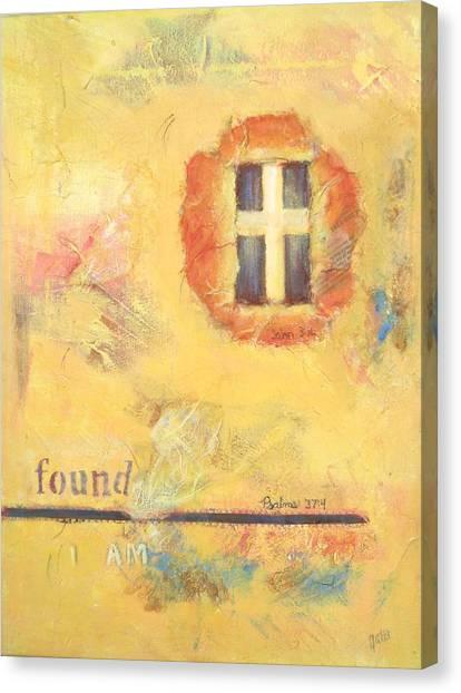 I Am Found Canvas Print by Joanna Gates