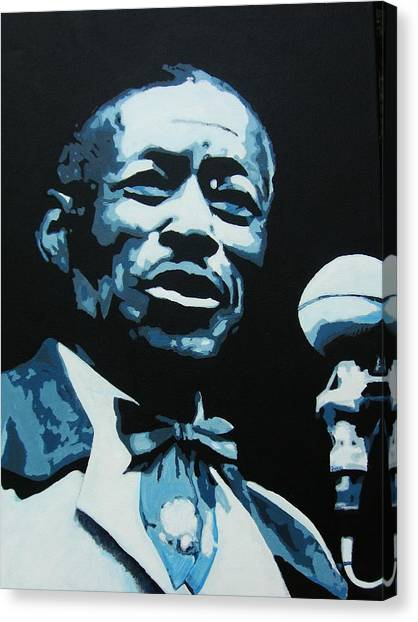 I Am The Blues Canvas Print
