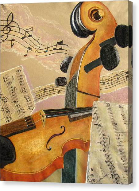 I Can Hear Music Canvas Print