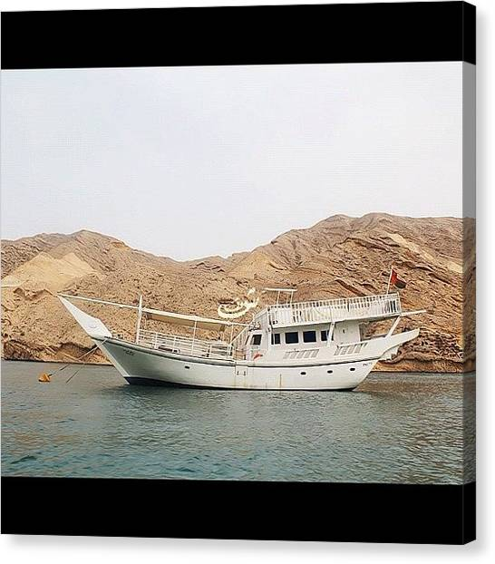 Yachts Canvas Print - I Captured This Photo When My Family by Shooq Alkaabi