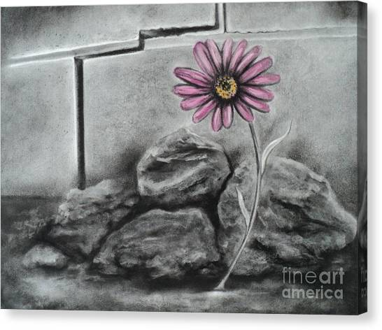 I Dance Alone Canvas Print