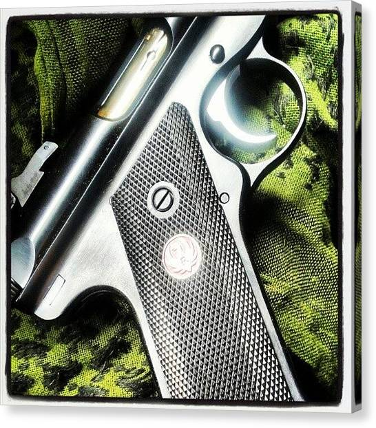 Guns Canvas Print - #i Don't #give #ruger #mkiii Enough by . .